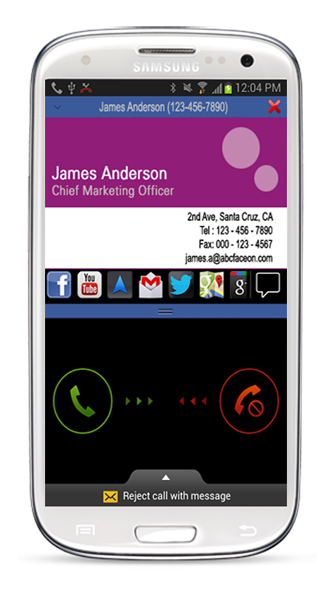 Feature Rich Caller Id Solution